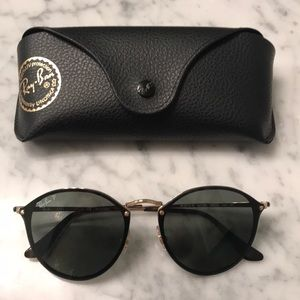 Ray-Ban Polarized Blaze Round Sunglasses